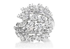 20 Ultra-Extravagant Rings From Your Wildest One-Percent Dreams : Lucky Magazine. Harry Winston $45,000.