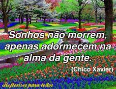 Acesse esta e outras reflexões... (clique na imagem)  #Reflexao #ChicoXavier