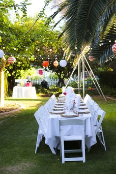 My Vintage Prom Dinner Setting Outdoor Party Pinterest Sets And