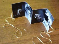 Concertina brag book  #wedding #keepsake #photo #craft