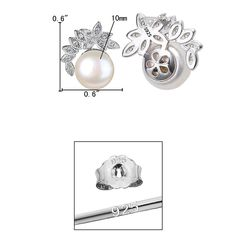 EleQueen 925 Sterling Silver CZ AAA Button Cream Freshwater Cultured Pearl Bridal Stud Earrings >>> You can get additional details at the image link. (This is an affiliate link) Amethyst Pendant, Amethyst Crystal, Bridal Earrings, Stud Earrings, Dragon Pendant, Silver Pendant Necklace, Designer Earrings, Pearl Bridal, Women Jewelry