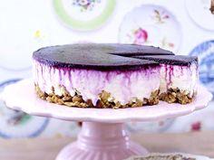 Kuchen ohne Backen – Cool Cakes! - blueberry-cheesecake9  Rezept