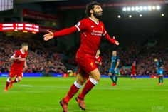 Captain Jordan Henderson hopes Mohamed Salah can continue his hot goalscoring run as Liverpool enter an important couple of months in their season. Football Music, Football Players, Mohamed Salah Liverpool, Best Bank, Sports Stadium, Live Stream, Lighting Manufacturers, Sports Wallpapers, Technology Design