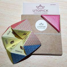 Muchas gracias a @utopick_chocolates por el regalo!  Nos encanta!  Nos vemos muy pronto