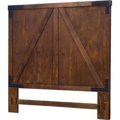 Shanty2Chic Barn Door Headboard- Queen