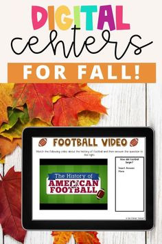 Fall digital centers for 3rd grade reading. Digital reading centers for distance learning, homeschool, virtual learning, or to use in the 1:1 classroom. Fun fall literacy centers for third grade!