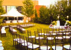 Ceremony set up at the Beverly Arts Center