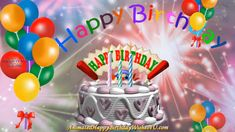 Animated Happy Birthday Wishes, Birthday Wishes Songs, Happy Birthday Music, Happy Birthday My Friend, Birthday Wishes Greetings, Happy Birthday Wishes Images, Happy Birthday Balloons, Happy Birthday Cards, Elba