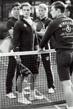 If Gatsby played tennis, you'd have Ralph Lauren's 10th Anniversary Wimbledon attire - GQ.co.uk