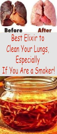 The lung-cleansing drink that every smoker and ex-smoker should try!