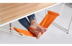 1pc small hammock to relax office tools Large Hanging bed to Relieve foot fatigue as household products inflatable hammock