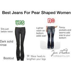 Best jeans for pear shaped women