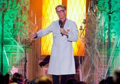 Nerdcore: You could say the brain is the largest sexual organ. And be corrected by one of the thousands of aspiring Bills Nye being drawn here by all the science jobs. Photo: Todd Williamson, Invision For The Hub Network / Invision2013