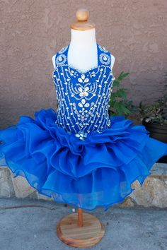 Beautiful glitz cupcake pageant dress by MissMadisonDesigns, $119.99