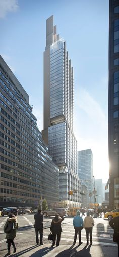 Image 1 of 16 from gallery of 425 Park Avenue / Foster + Partners + Adamson Associates. 425 Park Avenue, Facing NE on Park Avenue. Image © DBOX for Foster + Partners Architecture Visualization, Commercial Architecture, Classical Architecture, Futuristic Architecture, Amazing Architecture, Foster Architecture, Landscape Architecture, The Fosters, Foster Partners