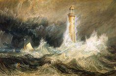 J. M. W. Turner - Bell Rock Lighthouse