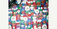Christmas fabric with carolers singing songs caroling cotton quilt print quilting sewing material crafts by the yard BTY quilter sewer by ConniesQuiltFabrics https://www.etsy.com/shop/ConniesQuiltFabrics. Find it now at http://ift.tt/292QlV2!