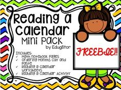 Calendar Activities Calendar Worksheets, Calendar Activities, Printable Calendars, Free Calendar, Reading Worksheets, Days And Months, Months In A Year, Days Of The Week Activities, Number Talks