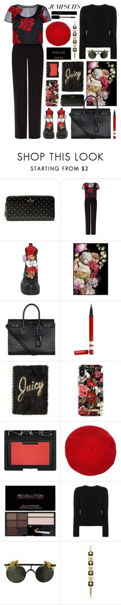 """""""more is better"""" by foundlostme ❤ liked on Polyvore featuring Kate Spade, Fenn Wright Manson, Yves Saint Laurent, Juicy Couture, iDeal of Sweden, NARS Cosmetics, Alexandra Golovanoff, Orla Kiely, Gucci and jumpsuits"""