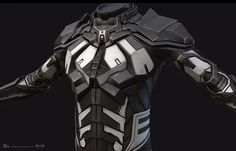 This is the real-time version of the suit. Retopo and UVs done in Maya. Texturing and shading done in Substance Painter. Images from Marmoset Toolbag. Different variations. Real Iron Man, Nightwing Cosplay, Combat Suit, Apple Wallpaper Iphone, Eve Online, Body Armor, Itachi Uchiha, Sci Fi, Fiction