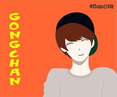 My Lovely Bias GONGCHAN SHIK B1A4 by WydhaLovavella.deviantart.com on @DeviantArt