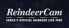 Santa's Official Reindeer Live Feed. Awesome site.