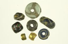 Beads from Viking Age York (YAT Photographic Archive Ref: 003283)