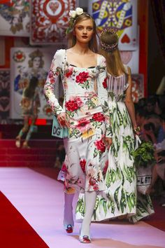 Dolce Gabbana Fashion Show Ready to Wear Collection Spring Summer 2018 in Milan