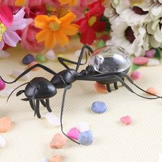 Solar Ant Energy-saving Model Toy Children Teaching Fun Insect Toy Gift Sale - Banggood.com