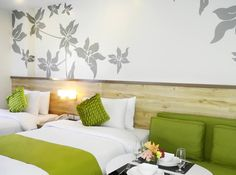 Welcome to Azalea Hotels & Residences Boracay. Your Holiday Haven Bed Pillows, Pillow Cases, Hotels, Baguio, Holiday, Room, Fragrance, Spaces, Home Decor