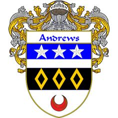 Andrews Coat of Arms namegameshop.com has a wide variety of products with your surname with your coat of arms/family crest, flags and national symbols from England, Ireland, Scotland and Wale