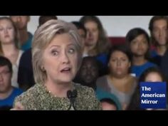MYSTERY: What was going on with Hillary's eyes during Philly speech? - Watch to the end its really freaky!  The American MirrorThe American Mirror