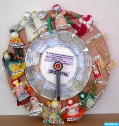 Дидактическая игра «Календарь народной куклы» Фото