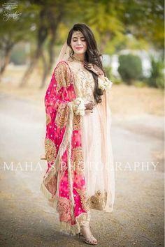Pakistani Maria B 2019 Mother Daughter Embroidery Collection Shalwar Kameez Suit Pakistani Wedding Outfits, Bridal Outfits, Pakistani Dresses, Indian Dresses, Indian Outfits, Bridal Dresses, Pakistani Couture, Wedding Hijab, Nikkah Dress