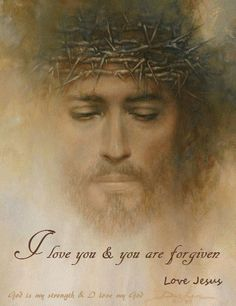 Thank you, My Lord and My God. My Love. My Redeemer.