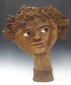 Carlos Beltran Baldiviezo Artwork Title: Dionysus, Ceramics Handbuilt.