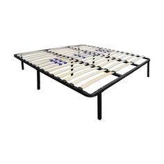 Platform Bed Frame Box Spring Replacement with Adjustable Lumbar Support - Eco Dream : Target