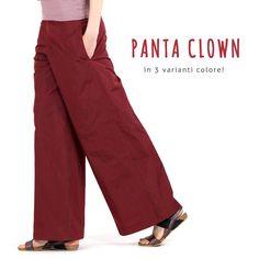 PANTA CLOWN! Pantalone clown in tessuto tecnico, in vendita nelle boutique Martino Midali e sullo SHOP ONLINE ►http://www.martinomidali.com/store/it/total-look/panta-clown.html #martinomidali #midali #spring #primavera #été #estate #summer #colori #colors #colours #clown #pantaloni