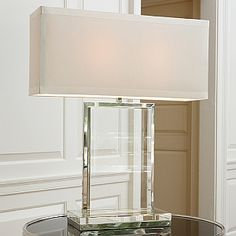 The Designer Insider: Modern Crystal Table Lamps