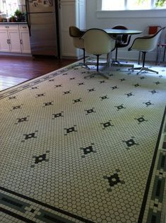 Historic Tile Border Patterns 3 4 Quot X 3 4 Quot Squares Early