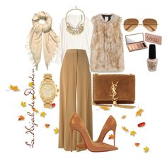 """Autumn Hijab Outfit"" by le-hijab-de-doudou ❤ liked on Polyvore featuring H&M, STELLA McCARTNEY, Yves Saint Laurent, Ray-Ban, Christian Louboutin, Zara, Isabel Marant, Michael Kors, Sole Society and Urban Decay"