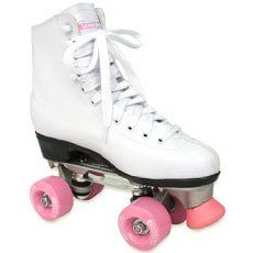 old school skates, I wish I still had the pom poms!!