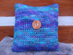 Bohochet: Free pattern: Tunisian Crochet Gypsy Pillow Cover