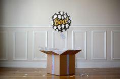 Ballon Cadeau The PopCase - Halloween Frayeur garantie...