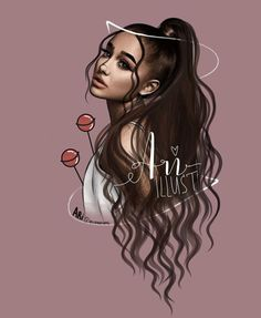 Ariana Grande Outline Famous Last Words Ariana Grande Fotos, Ariana Grande Images, Ariana Grande Anime, Ariana Grande Tumblr, Ariana Grande Drawings, Girl Drawing Sketches, Cute Girl Drawing, Girly Drawings, Ariana Grande Background