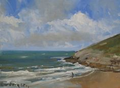 Buy Mwmt Bay, Wales, Oil painting by Malcolm Ludvigsen on Artfinder. Discover thousands of other original paintings, prints, sculptures and photography from independent artists.