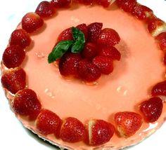 Bilde av Supergod ostekake!. Panna Cotta, Ethnic Recipes, Cakes, Food, Dulce De Leche, Meal, Cake, Eten, Meals