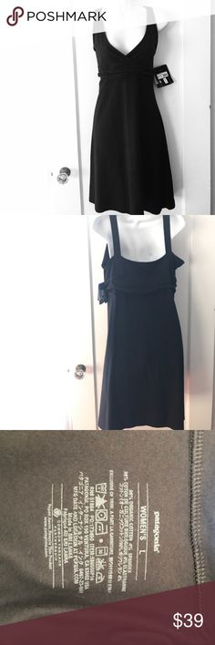 Patagonia Margot Dress A great every day dress! V neckline with a flattering band that gathers. Organic cotton! Measures 19 inches armpit to armpit and about 37 1/2 inches from shoulder to hem. Lots of stretch. Patagonia Dresses