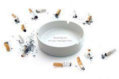 Vista. Fumar mata tu visión
