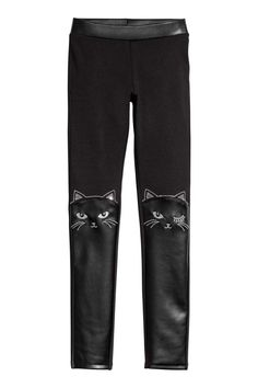 Dabbing Cat Drawstring Waist,100/% Cotton,Elastic Waist Cuffed,Jogger Sweatpants Black